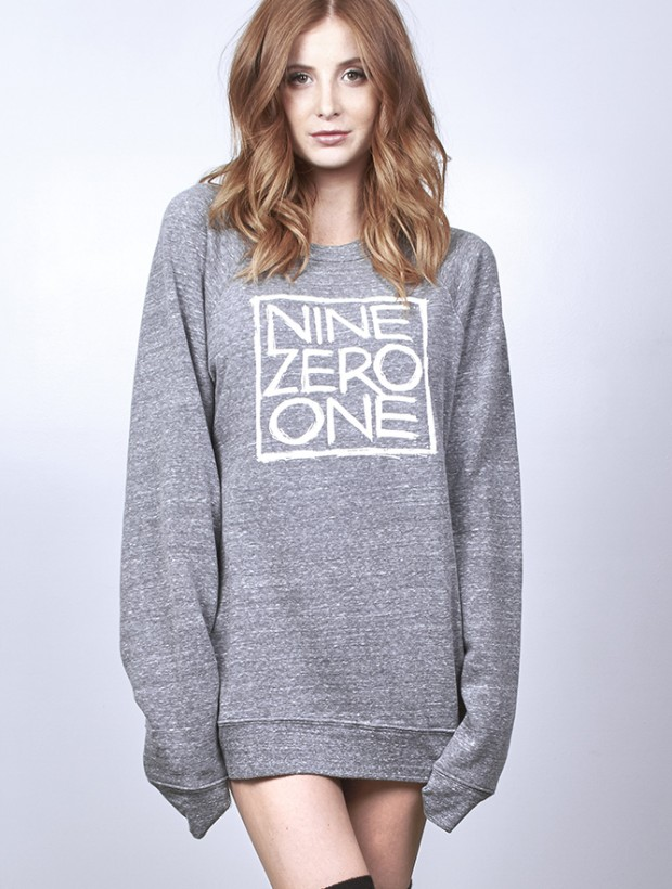 Nine Zero One Sweater - Grey